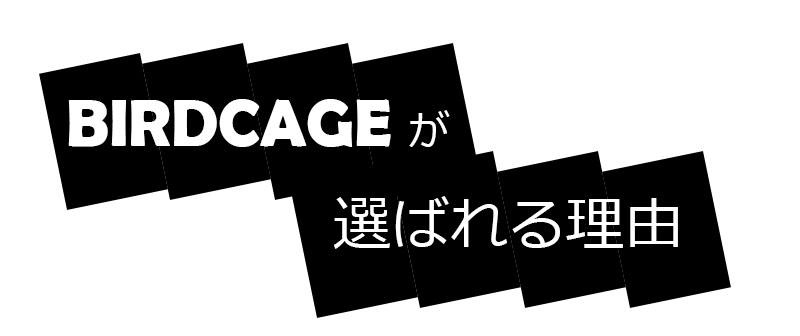 reason for choosing birdcage